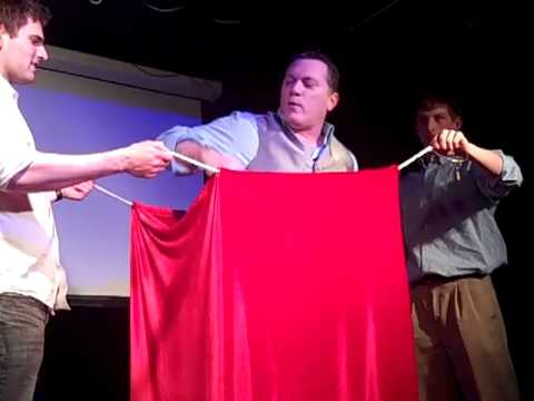 """Magician Randy Masters and """"The Shanghai Chain Shackle Escape"""" (Shorter Version)"""