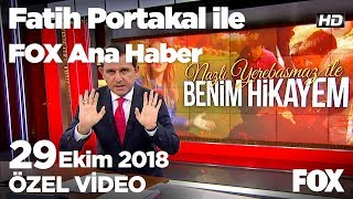 Cumhuriyetle yaşıt çiftin Atatürk sevgisi... 29 Ekim 2018 Fatih Portakal ile FOX Ana Haber
