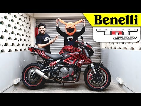 Living with it Ep. No.8 |Benelli TNT 600i | India's loudest Motorcycle !!!