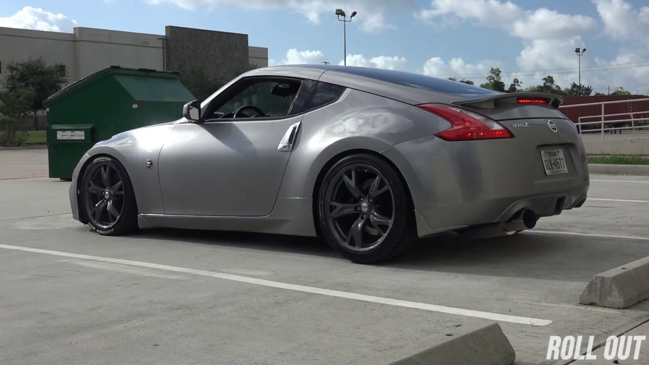 Nissan 370z Exhaust || Greddy Revolution RS Exhaust (Start Up,Idle,Fly  Bys,Revs)