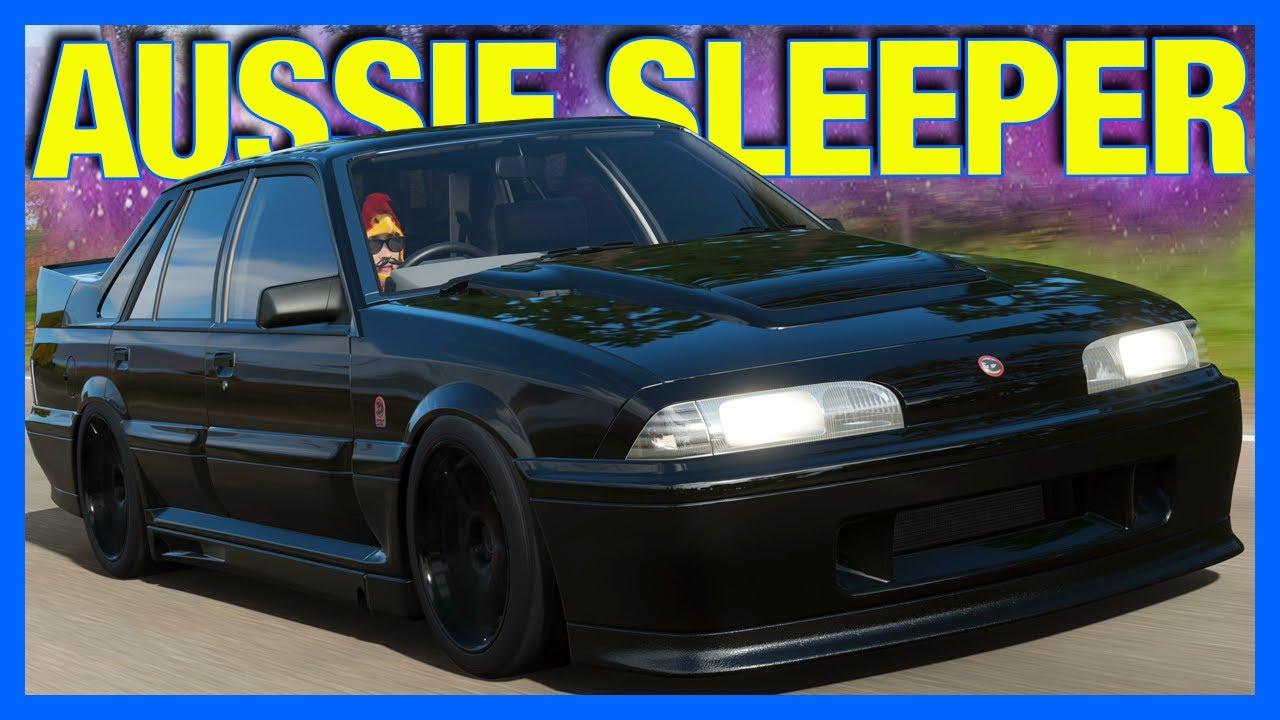 Forza Horizon 4 : The Ultimate Australian Sleeper!! (FH4 Holden VL Commodore)