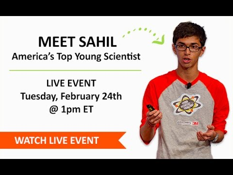 Meet America's Top Young Scientist: Live Event Archive