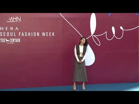 [MHN TV] 황보(Hwang Bo) 2018 S/S Seoul Fashion Week Red Carpet