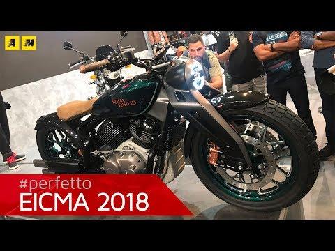Royal Enfield KX - EICMA 2018 [ENGLISH SUB]