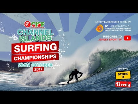 Channel Island's Surfing Championships 2017 DAY TWO