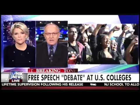 Megyn Kelly, Alan Dershowitz rip liberal fascism on campuses: 'These students are book burners'