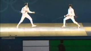 Олимпийские игры 2000г  Сидней  Шпага мужчины  Личный турнир  Павел Колобков I место   Федерация