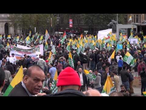 Kashmir Protest March London