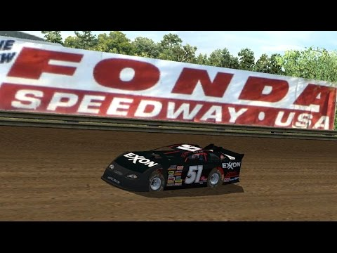 Dirt Late Models @ Fonda Speedway (CFTM Race 1 of 12) | NR2003 LIVE STREAM EP95