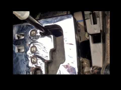 Как снять хромированную накладку Peugeot 307