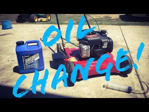 Briggs 300E (450 550ex) Series Oil Change