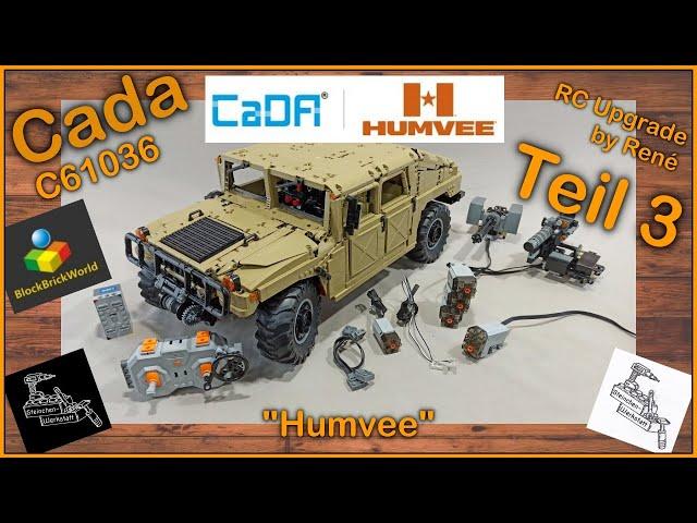 Teil 3 RC Umbau | Einfach HAMMER dieser Humvee von Cada | C61036