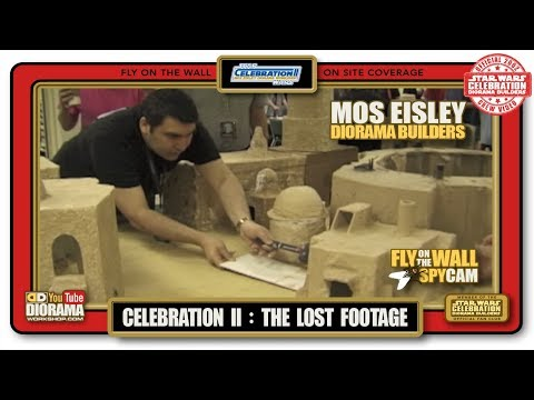 Star Wars Celebration II DIORAMA LOST FOOTAGE - FLY ON THE WALL EDIT