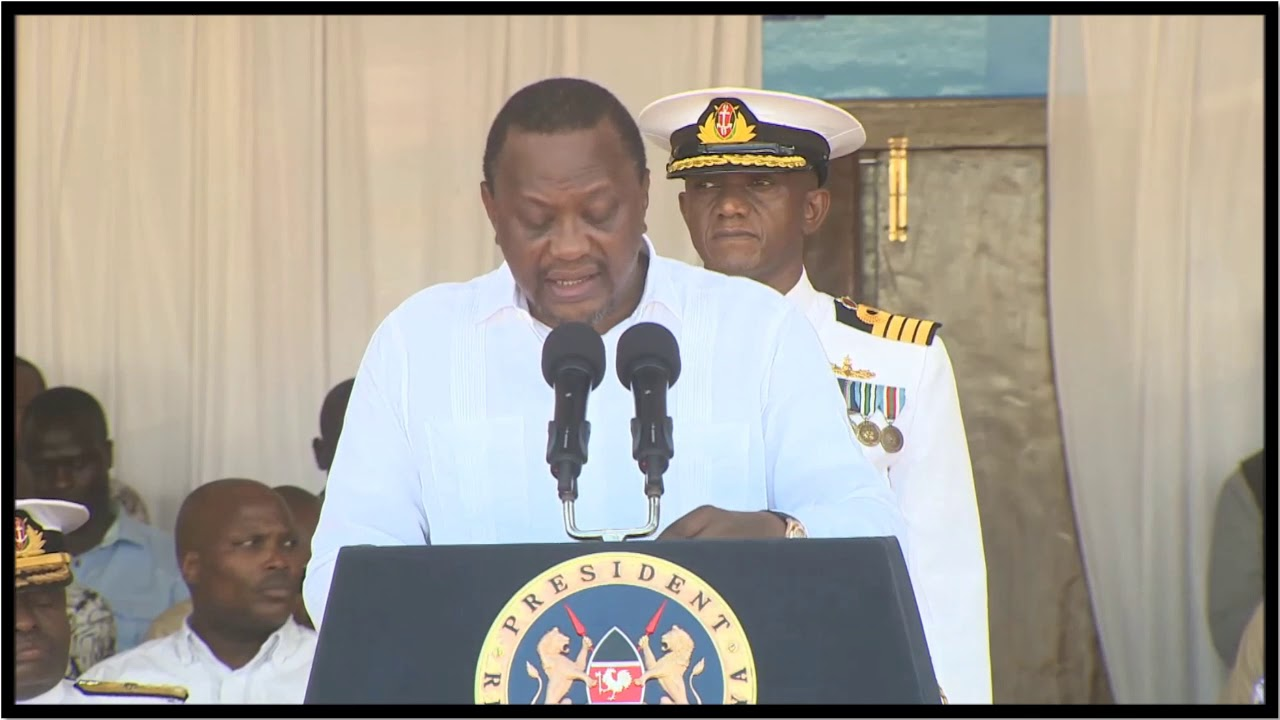 UHURU KENYATTA FULL SPEECH AFTER PRESIDING OVER ASK MOMBASA