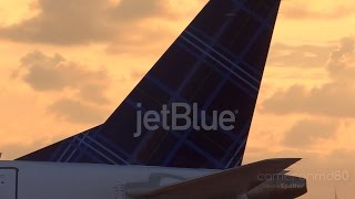 Jetblue Tartan Departure | Embraer 190 | Nassau,Bahamas