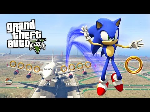 GTA 5 Mods - ULTIMATE SONIC THE HEDGEHOG MOD!! GTA 5 Sonic Mod Gameplay! (GTA 5 Mods Gameplay)
