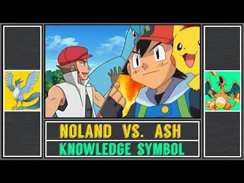 Ash Vs. Noland (Pokémon Sun/Moon) - Battle Factory/Knowledge Symbol - Battle Frontier