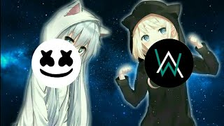 ".•♫•NightCore•♫•.  ""Alan Walker VS. Marshmello"" (Best Songs)"