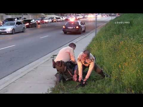 "RSO Takedown Suspect In Traffic ""Caught on Camera"" /  Lake Elsinore  RAW FOOTAGE"