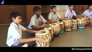 Kids Instrumental Music Practice ( Tabla, Mridangam, Kanjira )