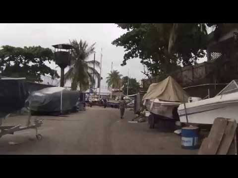 Lagos Nigeria Beachland Estate Rundfahrt Teil1