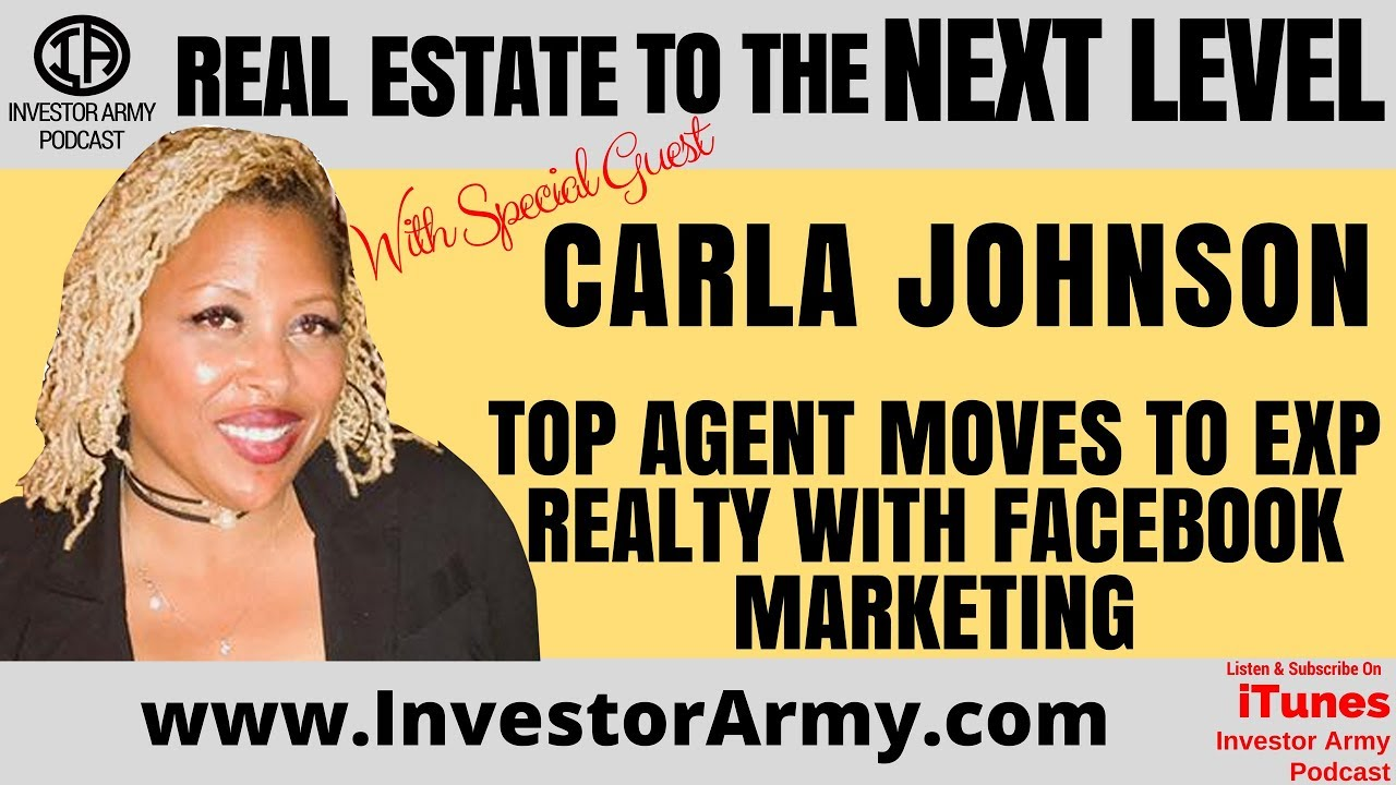 Top Agent Moves To EXP Realty with Facebook Marketing  - Carla Johnson