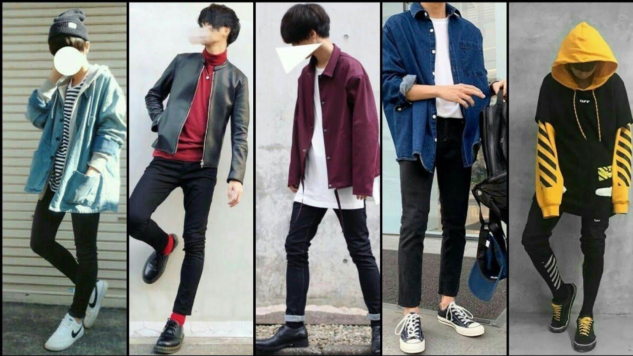 Best Korean Boys Outfit 7  Korean Dressing Style 7  Korean  DressCoat Ideas