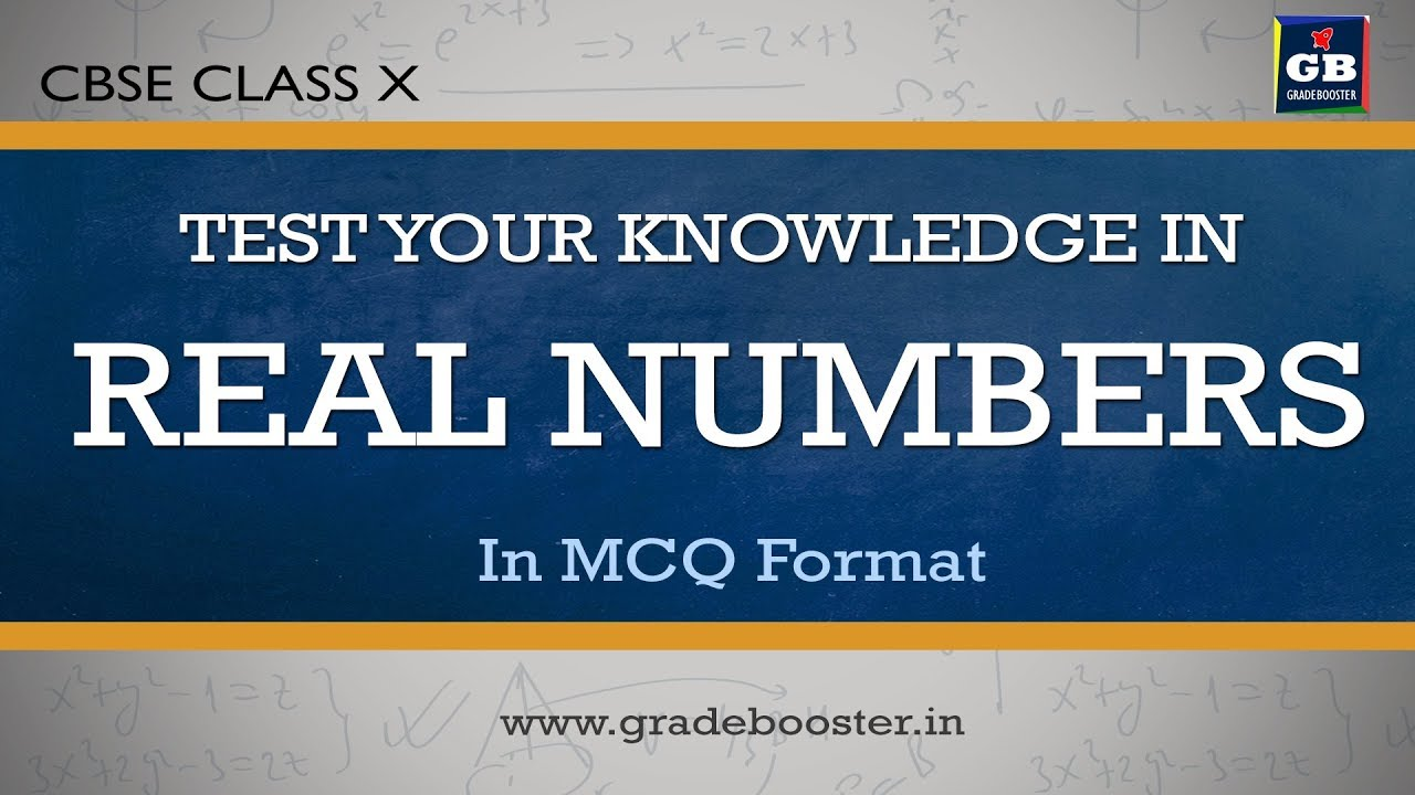 mcq #realnumbers : quiz: important questions : 10th Mathematics : CBSE  Syllabus: NCERT class 10