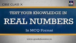 mcq #realnumbers : quiz: important questions : 10th Mathematics : CBSE Syllabus: NCERT class 10