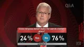 5/5 Biologist Richard Dawkins vs. Cardinal George Pell -- Round 5