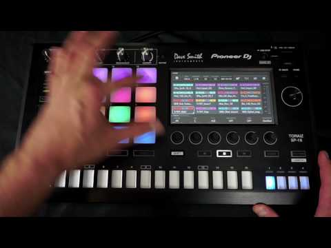 Pioneer DJ TORAIZ SP-16 Hands-On First Look