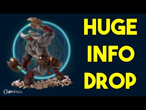 HUGE CROWFALL INFO DROP! Necromancy, Vessel System, Characte