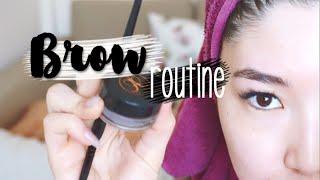 КАК Я ОФОРМЛЯЮ БРОВИ? | MY BROW ROUTINE #AsiyaTV