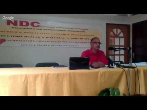 NDC Press Conference August 29th, 2016
