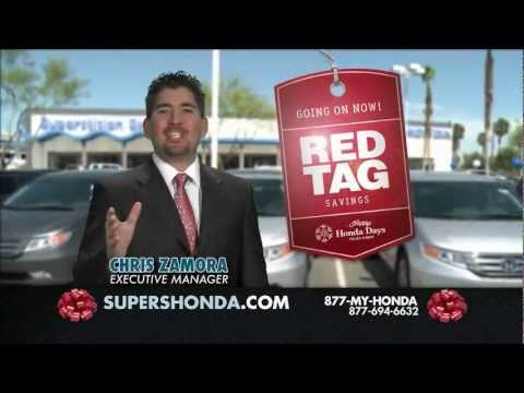 Honda Of Superstition Springs: The Happy Honda Days Red Tag Clearance Event