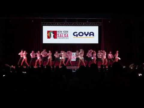Lorenz Latin Dancers at 2017 NY International Salsa Congress