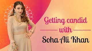 Candid with Soha Ali Khan - Hauterfly
