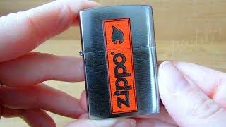 Зажигалка Zippo 29203 Logo (Видео обзор) podarki-odessa.com