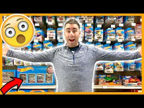 Hot Wheels Peg Hunting Toys R Us  | So Many New Play Sets