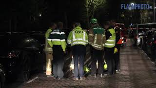 Uitslaande brand in flatgebouw – Hogenbanweg Schiedam