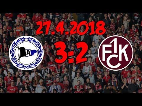 DSC Arminia Bielefeld 3:2 1. FC Kaiserslautern - 27.4.2018 - Das war's dann....