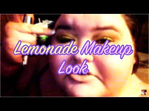 Lemonade make up look