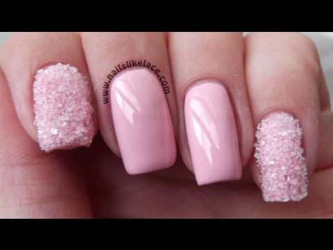 Розовые ногти дизайн 2019