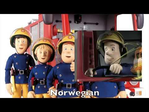 Fireman Sam 2005 Opening Multilanguage Comparison
