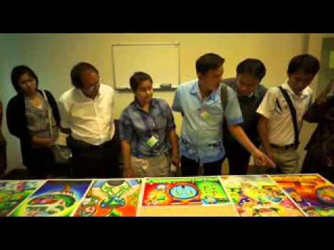 CSR โครงการประกวดวาดภาพ ปี 2555 เยาวชนไทย ใส่ใจลดภาวะโลกร้อน 25550817