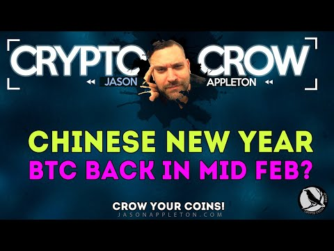 Chinese New Year - BTC Back In Mid Feb? Other Crypto News