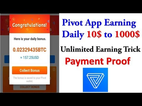 Pivot App | How To Increase Unlimited Power | How Receive Money From Pivot APP | Payment Proof |