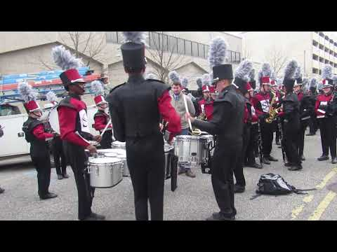 Sparkman High School Drumline | 2019 | Inaugural Parade Warmup