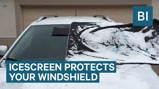 Never Scrape Ice Off Your Windshield Again With This Special Screen