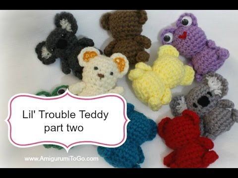 Amigurumi Valentine Teddy Bear Part Two : Amigurumi Valentine Teddy Bear Part One FunnyCat.TV